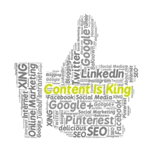 planejamento de presença online | conteúdo